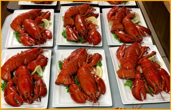Lobster Dinners at an Event Catering in New Glasgow, NS